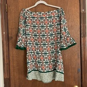 Lulu's over the shoulder dress size Small